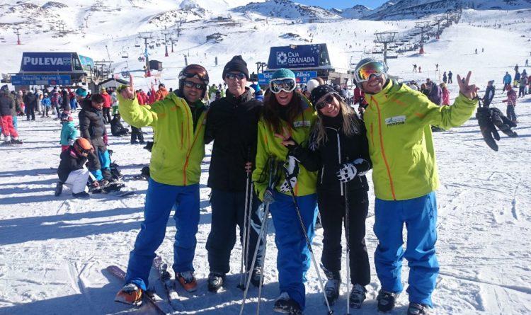 Equipamiento para esquiar en Sierra Nevada