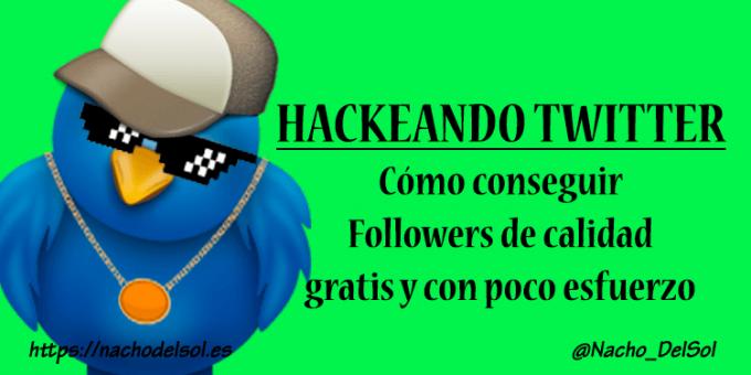 Conseguir seguidores en Twitter GRATIS