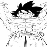 Imagen-de-Goku-haciendo-una-henki-dama-para-pintar-dibujar-y-colorear.png