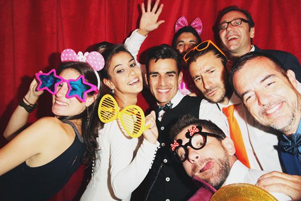 10 Cosas sobre los fotomatones para bodas